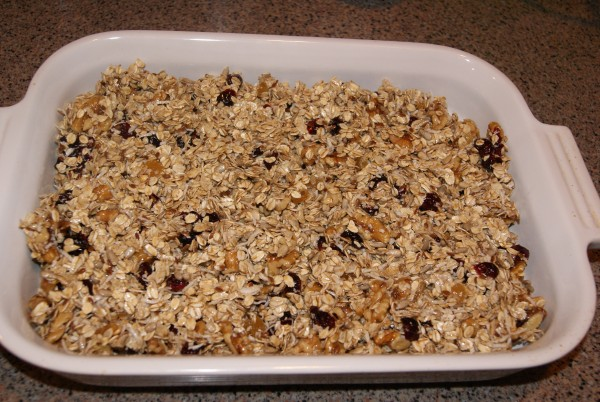 Christmas Foodie No. 7: Christmas Granola