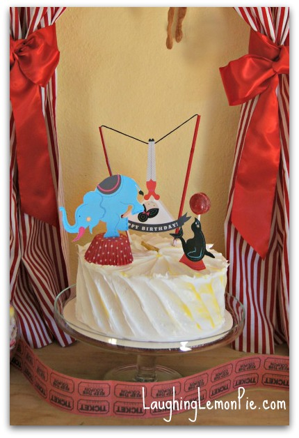 Circus-Themed First Birthday Party