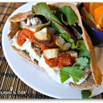 tandoori chicken sandwich from LaughingLemonPie.com