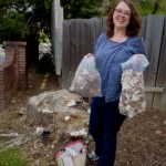 Lacy's first mushroom haul