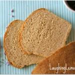 organic wheat sandwich bread from LaughingLemonPie.com