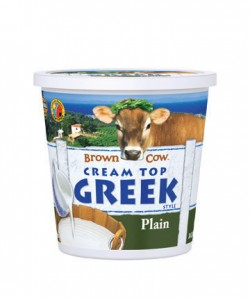 Brown Cow Greek Yogurt