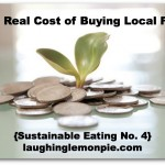 real cost of local food