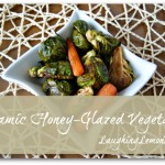 balsamic honey glazed vegetables