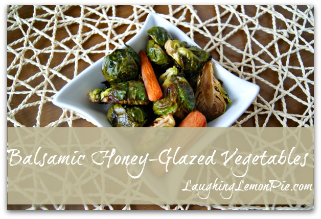 Balsamic Honey-Glazed Roasted Vegetables