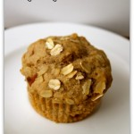 vegan ginger pear muffins from laughinglemonpie.com