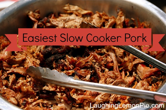 Budget Organic Meal Plan No. 2: Slow Cooker Pork