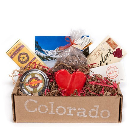 GIVEAWAY! Colorado Valentine's Day Chocolate Basket from Regional Makers