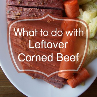 Budget Organic Meal Plan No. 4: Corned Beef