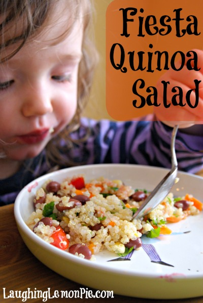 Fiesta Quinoa Salad from LaughingLemonPie.com