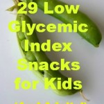 29 Low Glycemic Index Snacks for Kids (and Adults!) from LaughingLemonPie.com