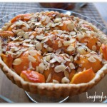 apricot almond fruit tart recipe, LaughingLemonPie.com