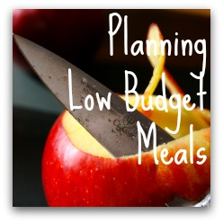 Planning Low-Budget Meals