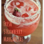 fresh strawberry margarita recipe from LaughingLemonPie.com