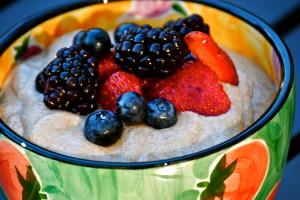 Chia Seed Porridge from LaughingLemonPie.com