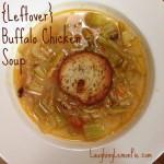 leftover buffalo chicken soup