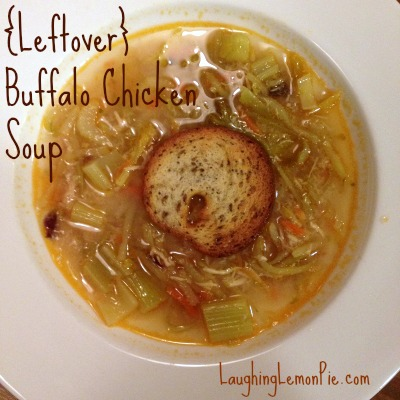 Buffalo Chicken Soup {Leftover Magic!}