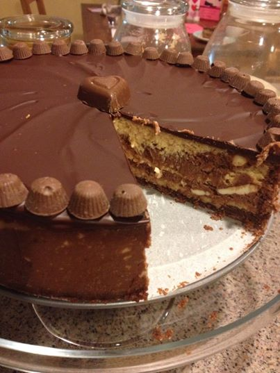 Gratitude Friday: Chocolate Peanut Butter Cheesecake