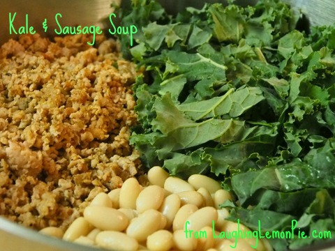 Economical & Expeditious: Greens, Beans, & Sausage soup