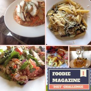 Foodie Magazine Diet Challenge Week 1 | LaughingLemonPie.com