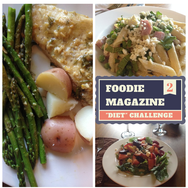 "Foodie Magazine ""Diet"" Challenge — Week 2 Recap"