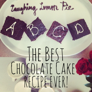 Best Chocolate Cake Recipe Ever from LaughingLemonPie.com