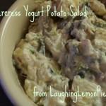 Watercress Yogurt Potato Salad from LaughingLemonPie.com