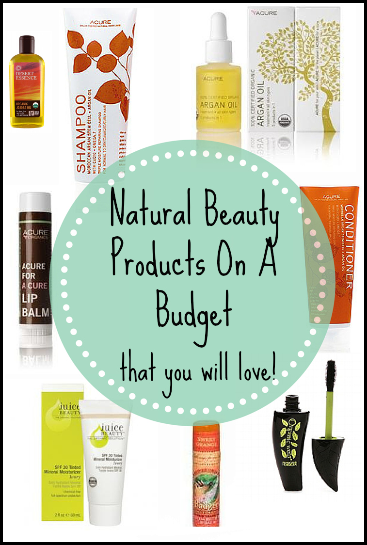 Natural Beauty Products on a Budget (That You Will Love!)