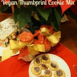 Christmas Foodie No. 14: Vegan Thumbprint Cookie Mix from LaughingLemonPie.com