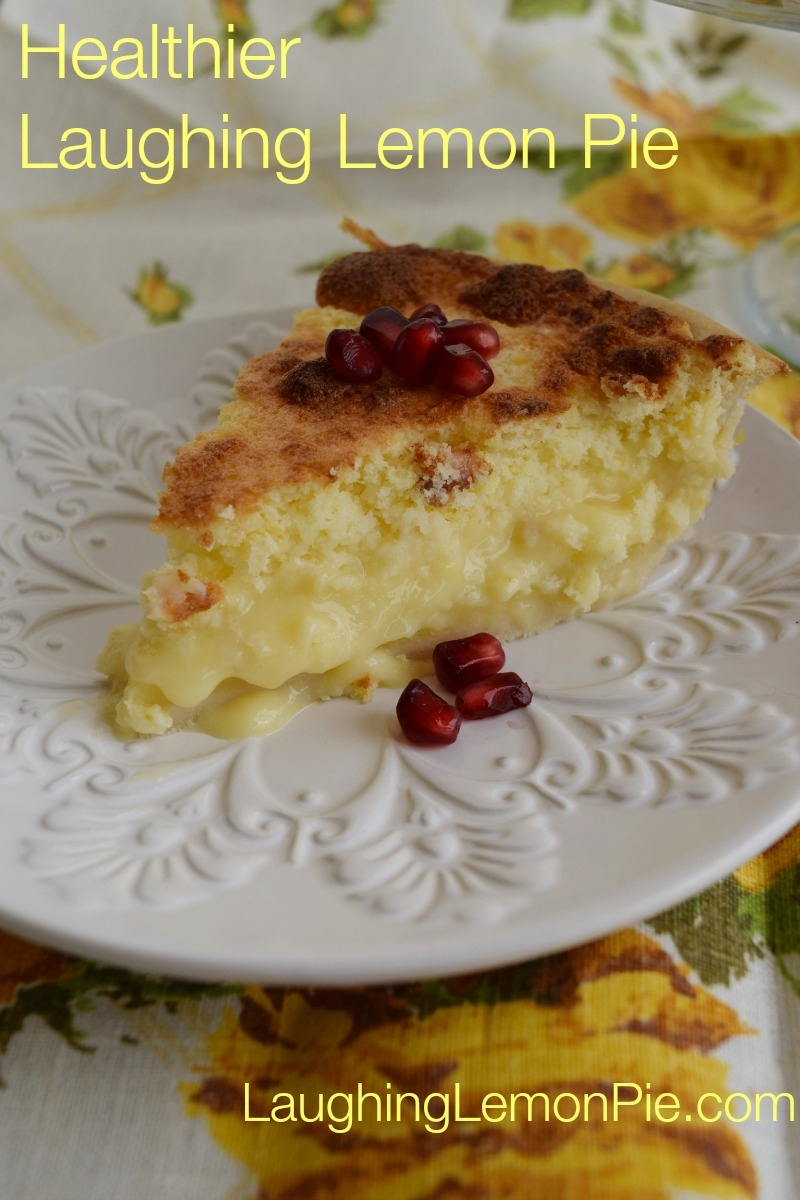 Healthy Laughing Lemon Pie (gluten-free, Paleo)