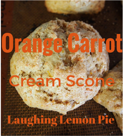 Orange Carrot Cream Scones