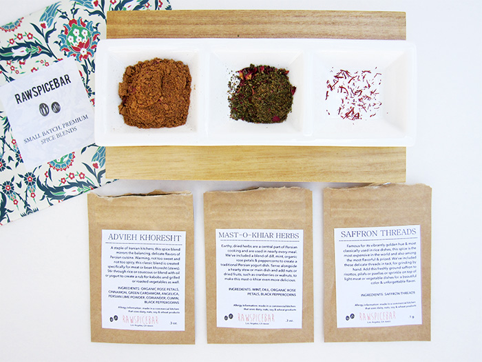 Spice up Your Dinner with Raw Spice Bar
