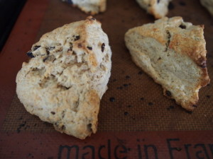 Rum Raisin Scones on LaughingLemonPie.com