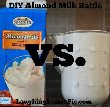 DIY Almond Milk (and why I'm giving it up)