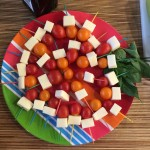 Caprese Dippers, Laughing Lemon Pie at Whole Foods Bradburn 8.18.15