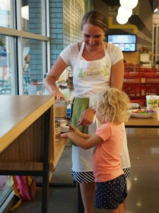Hummus Demo at Whole Foods Bradburn Aug 18, 2015