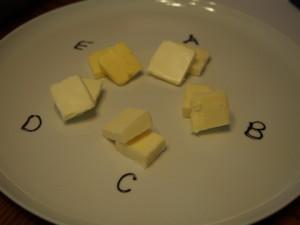 Better Butter Tasting 2015, LaughingLemonPie.com