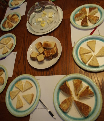 Better Butter Tasting 2015, LaughingLemonPie.com