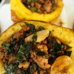 Stuffed Winter Squash from The Homemade Kitchen on LaughingLemonPie.com