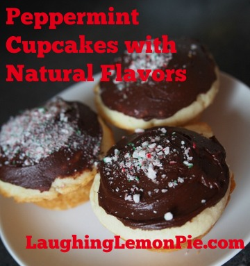Nature's Flavors & Peppermint Cupcakes Recipe