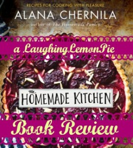 Homemade Kitchen book review on LaughingLemonPie.com