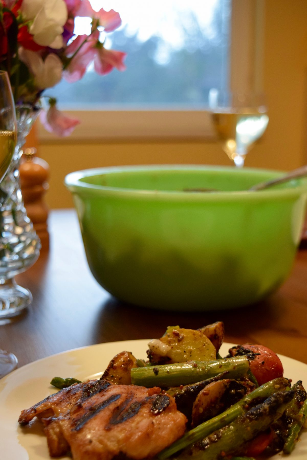 Grilled Spring Salad with New Potatoes |