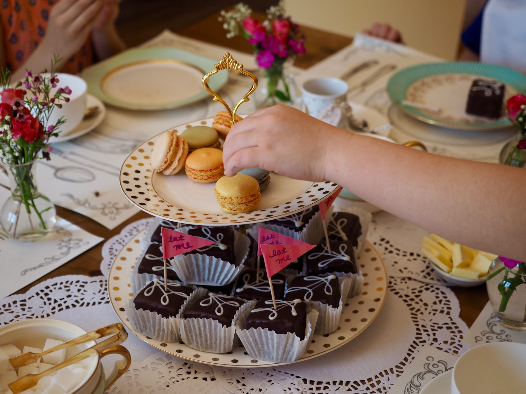 Alice In Wonderland Birthday Tea